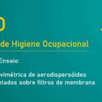 NHO 03 - Análise gravimétrica de aerodispersóides sólidos coletados sobre filtros de membrana