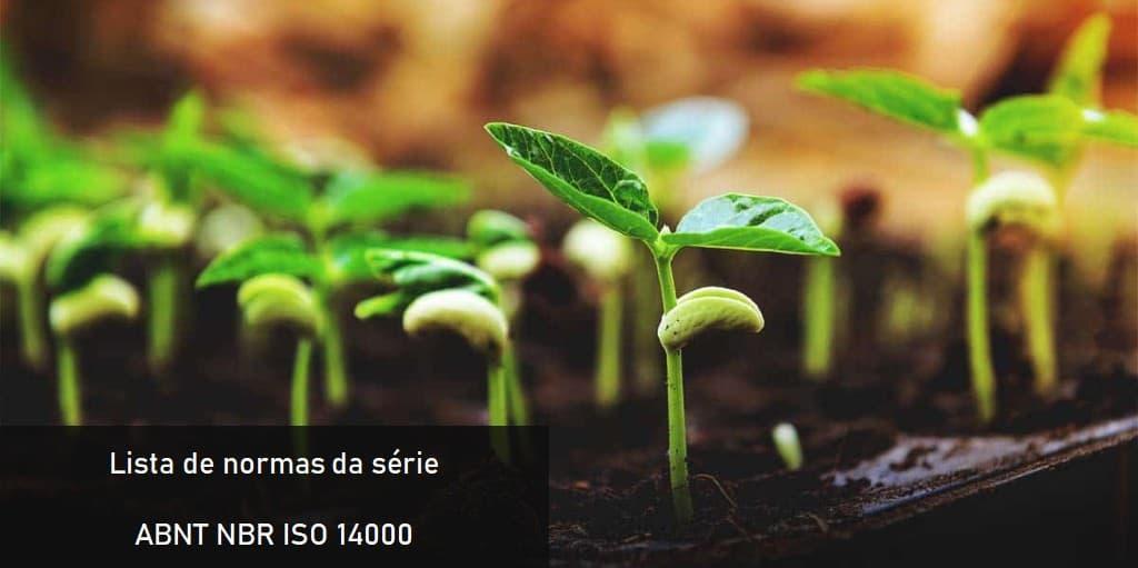 Lista de normas da série ABNT NBR ISO 14000