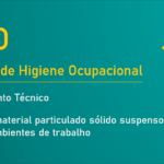 NHO 08 - Coleta de material particulado sólido suspenso no ar de ambientes de trabalho