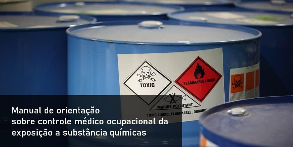 Manual de orientação sobre controle médico ocupacional da exposição a substância químicas