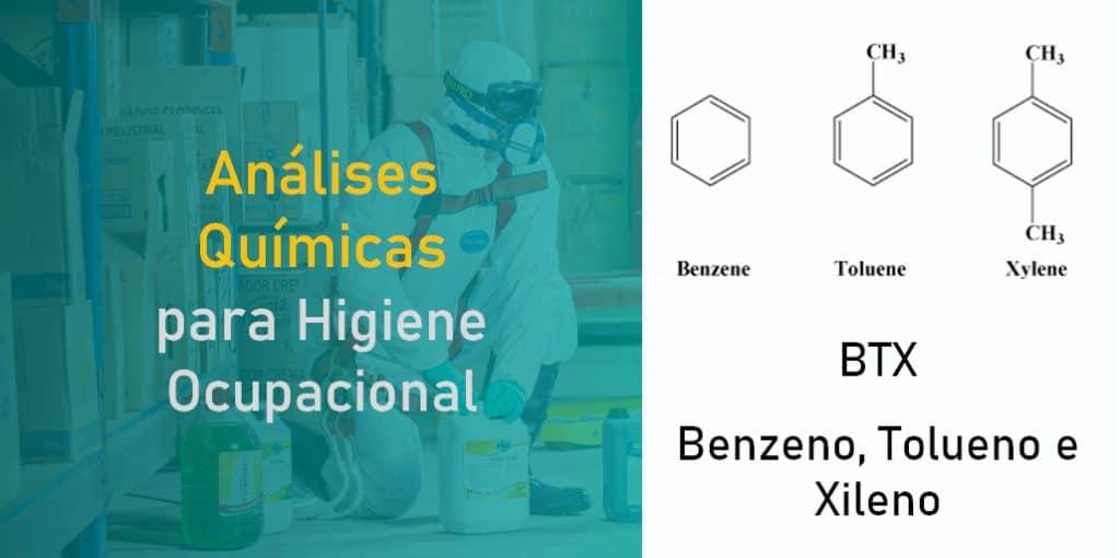 BTX - Benzeno, Tolueno e Xileno