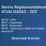 Novo Texto Normas Regulamentadoras ENIT Atualizadas